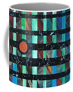 Coffee Mug featuring the painting Television by Robbie Masso