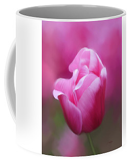 Tell Your Heart To Beat Again - Flower Art Coffee Mug