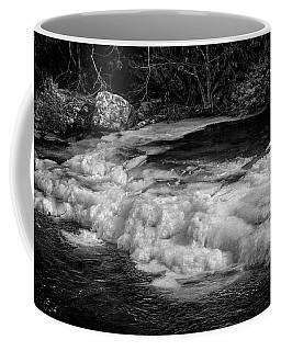 Tellico Ice In Black And White Coffee Mug
