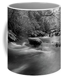Tellico Waters In Black And White Coffee Mug