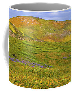 Temblor Range Spring Color Coffee Mug