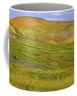 Temblor Range Spring Color Coffee Mug