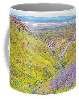 Coffee Mug featuring the photograph Temblor Range View To Caliente Range by Marc Crumpler