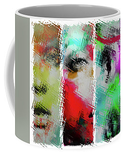 Temper Coffee Mug by Sir Josef - Social Critic -  Maha Art