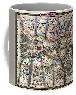 Temperance Map Coffee Mug