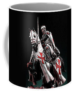 Templar Knight, Red Cross - 02 Coffee Mug