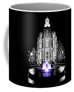 Temple Fountain  Coffee Mug