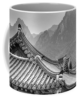 Temple In Sokcho  Coffee Mug
