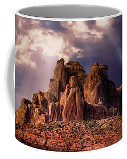 Temple Of Red Stone Coffee Mug