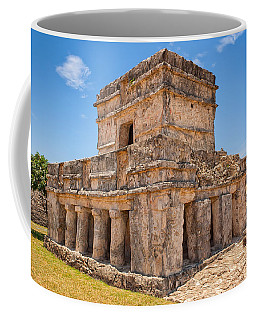 Temple Of The Frescos Coffee Mug by John M Bailey