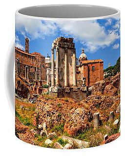 Temple Of Vesta Coffee Mug by Anthony Dezenzio