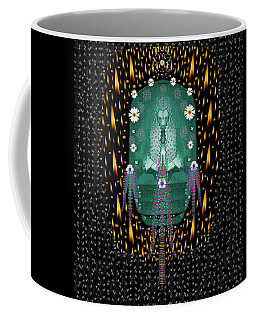 Temple Of Yoga In Light Peace And Human Namaste Style Coffee Mug