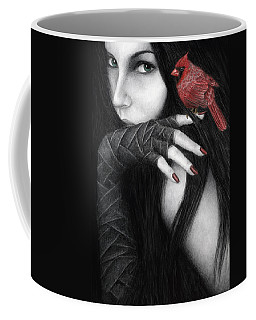 Temptation Coffee Mug by Pat Erickson