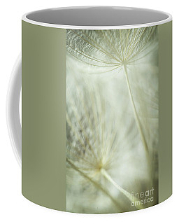 Tender Dandelion Coffee Mug by Iris Greenwell