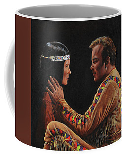 Tenderness In His Touch Coffee Mug