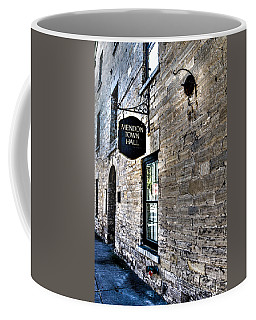 Mendon Town Hall Coffee Mug by William Norton