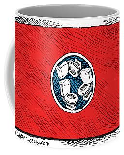 Tennessee Bathroom Flag Coffee Mug