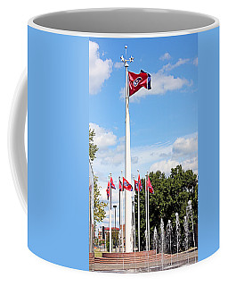 Coffee Mug featuring the photograph Tennessee Bicentennial Mall by Kristin Elmquist