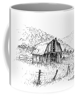 Tennessee Hills With Barn Coffee Mug