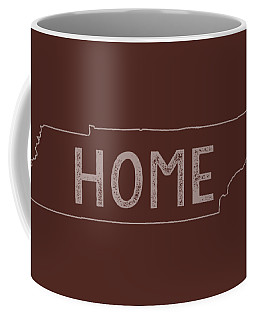 Coffee Mug featuring the digital art Tennessee Home by Heather Applegate