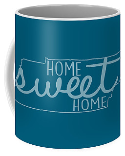 Coffee Mug featuring the digital art Tennessee Home Sweet Home by Heather Applegate