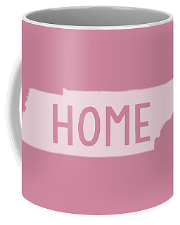 Coffee Mug featuring the photograph Tennessee Home White by Heather Applegate