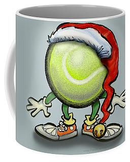Tennis Christmas Coffee Mug