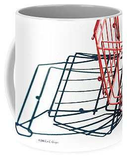 Tennis Court Pickup Basket Coffee Mug