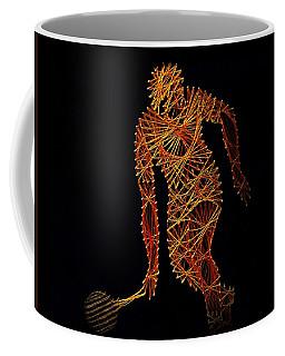 Tennis Coffee Mug by David Dehner
