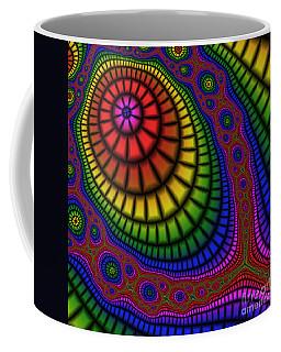 Tennis Racket 227 Coffee Mug