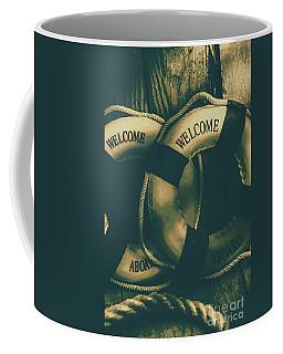 Tension On The High Seas Coffee Mug
