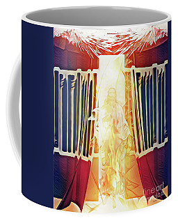 Coffee Mug featuring the digital art Tent Of Meeting by Jennifer Page