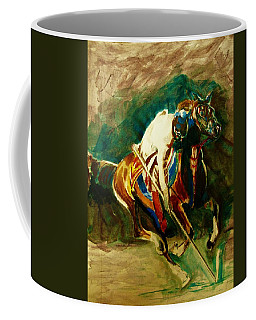 Tent Pegging Sport Coffee Mug