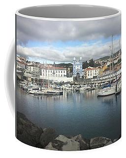 Terceira Port And Angra Do Heroismo Coffee Mug