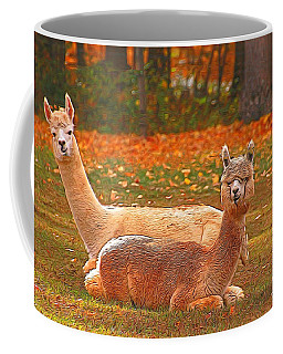 Teribus And Major Coffee Mug by Allen Beatty