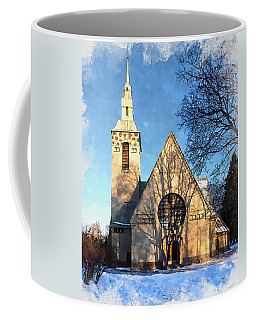 Terijoki Church Coffee Mug by Kai Saarto
