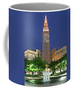 Terminal Tower Coffee Mug by Frozen in Time Fine Art Photography