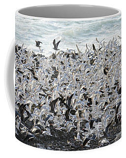 Terns On The Wing Coffee Mug