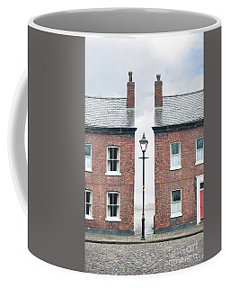 Terraced Houses Coffee Mug by Lee Avison