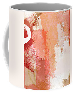 Terracotta Abstract- Art By Linda Woods Coffee Mug
