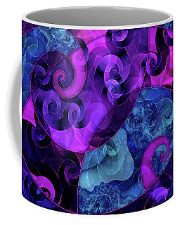 Coffee Mug featuring the digital art Tessellation by Kenneth Armand Johnson