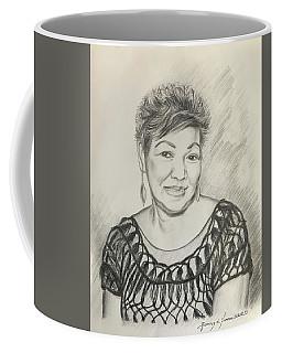 Tessie Guinto  Coffee Mug by Rosencruz  Sumera