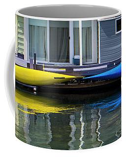 Marina Living In Victoria British Columbia 2to1 Coffee Mug by Ben and Raisa Gertsberg