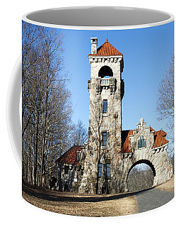 Coffee Mug featuring the photograph Testimonial Gateway Tower #1 by Jeff Severson