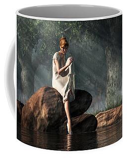 Testing The Waters Coffee Mug by Daniel Eskridge