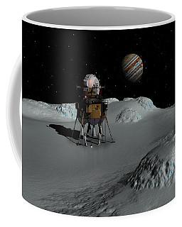 Testing The Waters Coffee Mug by David Robinson