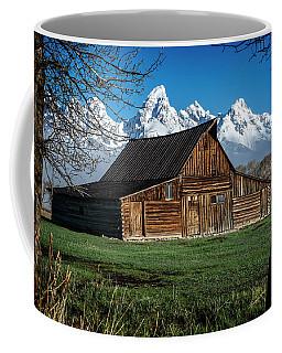 Moulton Barn And Tetons Coffee Mug
