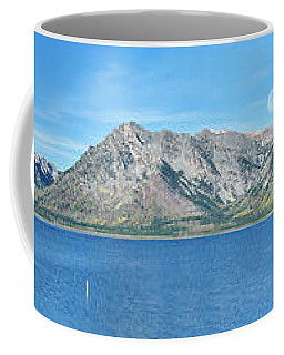Teton Moonset Borderless Coffee Mug