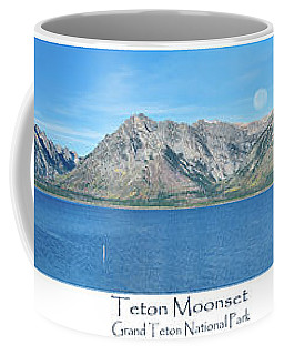 Teton Moonset Coffee Mug
