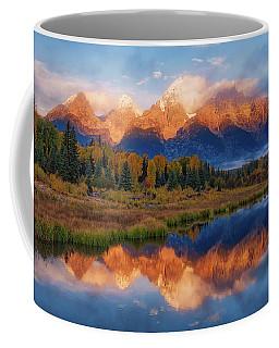 Teton Morning Coffee Mug